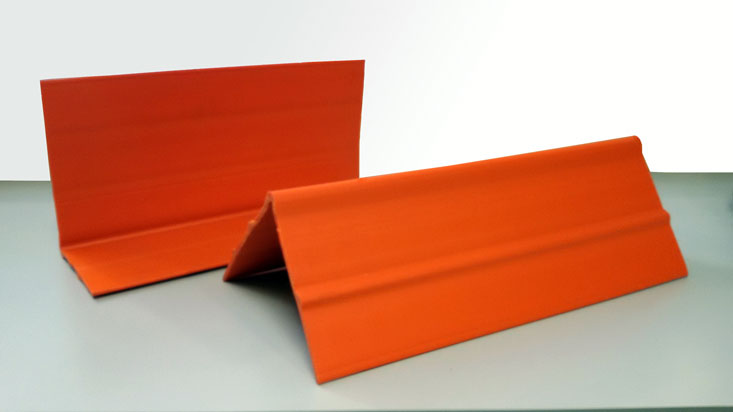 Extruded Orange Edge Protector